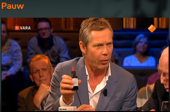 Our C60 oil on the Netherlands' top talkshow